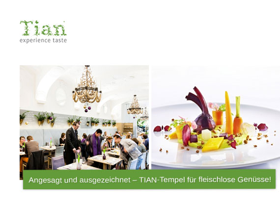 TIAN Restaurant in Wien